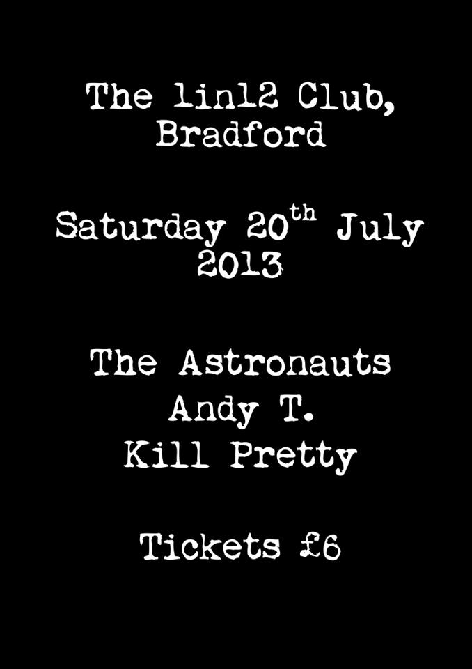 Bradford Poster for July 20th