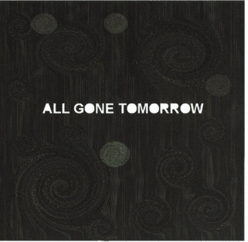 Jimmy Miller - All Gone Tomorrow - cover
