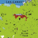 Las Lanas - The Blind Year Cover